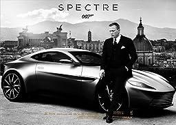 POP Home Store Movie Spectre James Bond Beside A Car Daniel Craig Poster wall 12X18 Inch