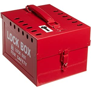 Brady Extra-Large Group Lock Box, Steel: Industrial Lockout Tagout