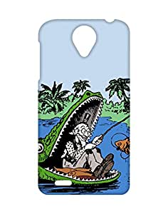 Mobifry Back case cover for Lenovo S820 Mobile ( Printed design)