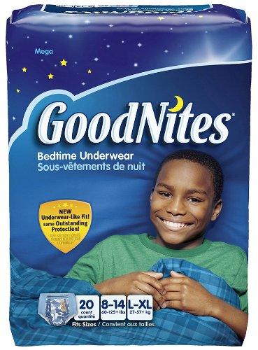 Goodnites Underwear - Boy - Large/X-Large - 20 Ct front-1056829