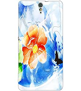 SONY XPERIA C5 FLOWER Back Cover by PRINTSWAG