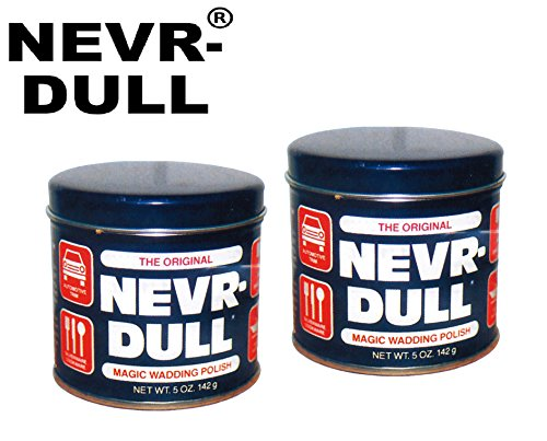 2-x-142-g-originale-nevr-dull-in-metallo-lucidato-pad