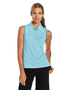 EP Pro Golf Ladies Sleeveless Tour Tech Striped Jersey by EP Pro Golf