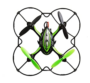 *LATEST MODEL* F180C + Mini RC Quadcopter Drone with 720p HD Camera RTF 4CH 6-Axis Gyro 2.4 GHz *Headless Mode* BONUS BATTERY (*Doubles Flying Time*) by USA Toyz