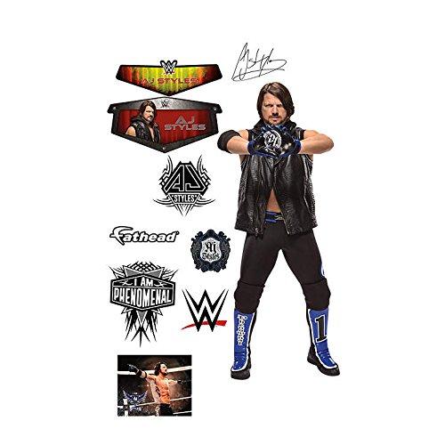 AJ Styles Fathead Wall Stickers