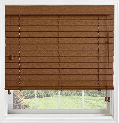 Bali blinds custom faux wood 2 corded blinds with cord for Bali blinds motorized remote control