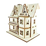 Doll House DIY Plywood Kit - Attic House 3 ★Made in Korea