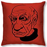 Right Digital Printed Clip Art Collection Cushion Cover RIC0019a-Red
