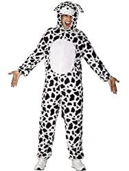 Uwant Fashion Dalmatian Costume Adults Fancy Dress Puppy Dog Dalmatians Outfit Large