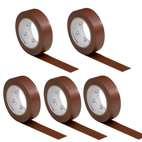 5-rotoli-vde-nastro-isolante-elettrico-pvc-nastro-adesivo-15mm-x-10m-din-en-60454-3-1-colore-marrone
