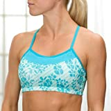 Printed Alexis Wireless Bra by Moving Comfort