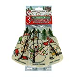 Yankee Candle Balsam & Cedar Novelty 3 Pk Car Jars Scented Candle