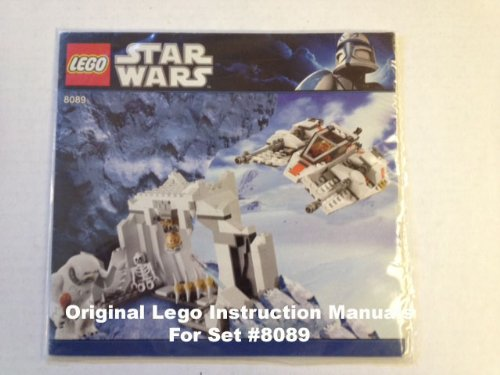 Instruction Manuals For Lego Star Wars Set 8089 Hoth Wampa Cave
