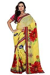 Sai Fabrics' Women Pure Georgette Saree ( Multicolour )