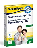 Software - SteuerSparErklärung MAC 2017 (für Steuerjahr 2016)