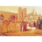 """Dolls Of India """"Desert Scene"""" Reprint On Paper - Unframed (28.57 X 20.96 Centimeters)"""