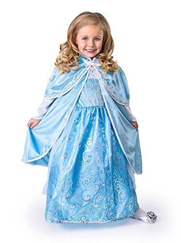 Little Adventures Ice Princess Blue Cloak Dress Up Costume
