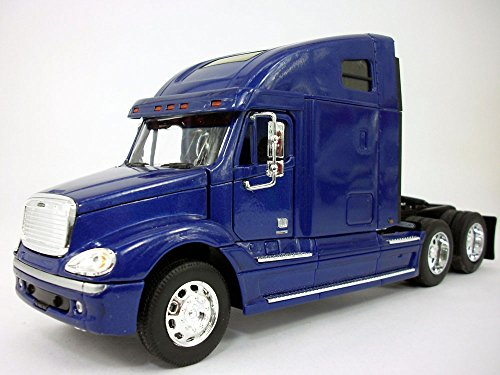Freightliner Columbia Extended Cab Truck 1/32 Scale Diecast Metal and Plastic Model - BLUE (Freightliner Diecast compare prices)