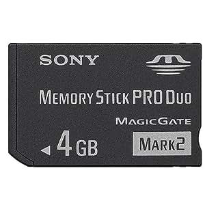 Sony - MSMT4G - Memory Stick Pro Duo Mark2 - 4 Go - Noir
