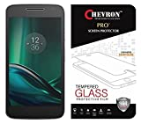 #4: Chevron Moto G Play 4Th Gen (Motorola Moto G4 Play) Screen Protector, Tempered Glass Screen Protector Film Guard