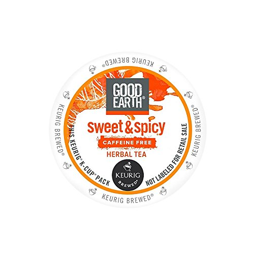 Good Earth Sweet And Spicy Caffeine Free Herbal Tea K-Cups