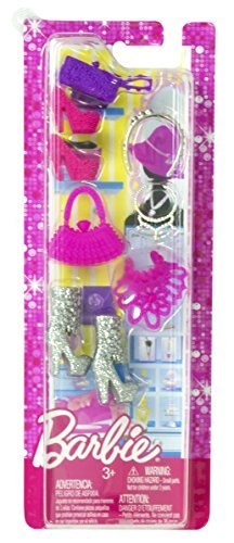 Mattel Barbie Shoes and Assorted Fashionistas Accessories - 1