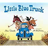 Little Blue Truck board book, Inglés