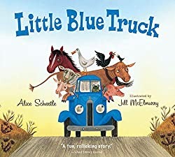 Little Blue Truck board book by Schertle Alice McElmurry