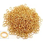 1000 Split Ring 6mm Gold Plated Chain Parts