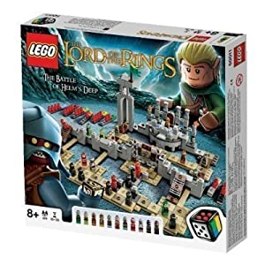 Lego Lord of The Rings Game 50011 The Battle Of Helm's Deep