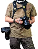 Rainbowimaging Qucik Release Dual-shoulder Camera Neck Strap for Canon Nikon Olympus Pentax Panasonic Sony Dslr + Lens - Black