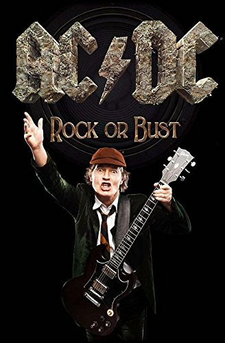Rock Or Bust / Angus Textil Poster