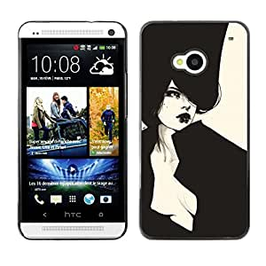 Hard Case Cover - Sexy Haut Couture Vignette - HTC One M7: Electronics