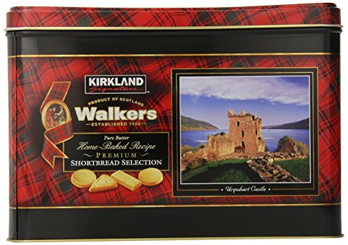 Kirkland Signature Walkers Premium Shortbread Selection Gift Tin, 4.6 Pound (Walkers Bread compare prices)