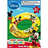 Disney Mickey Mouse Clubhouse Inflatable Swim Ring (20 Inch)