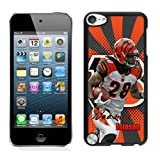 Cincinnati Bengals NFL Bernard Scott Ipod Touch 5th Hard Case Design For NFL Fans YL0557