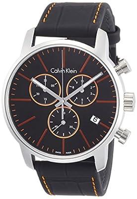 Calvin Klein K2G271C1 Mens City Black Chronograph Watch