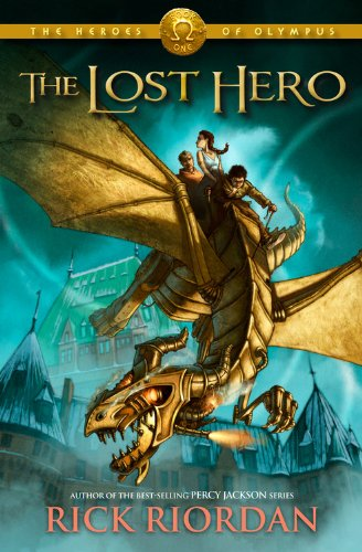 Cover of The Lost Hero (Heroes of Olympus, Book 1)