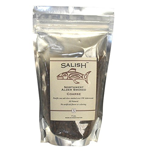 Salish Alderwood Smoked Salt (Coarse) Pouch (Artisan Smoked Salt compare prices)