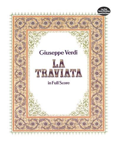 La Traviata in Full Score (Dover Vocal Scores)