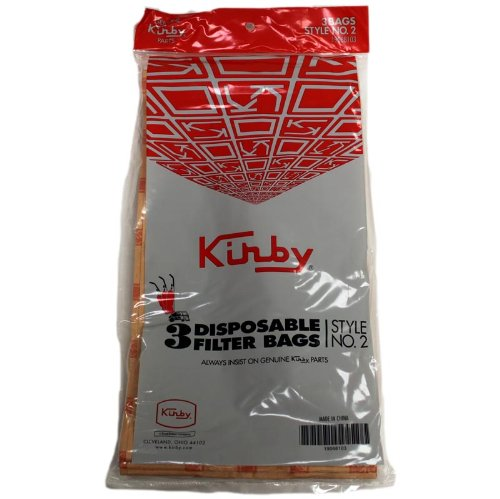 Kirby Vacuum Cleaner Style 2 Heritage I Paper Bags (Kirby Vacuum Bags Style 2 compare prices)