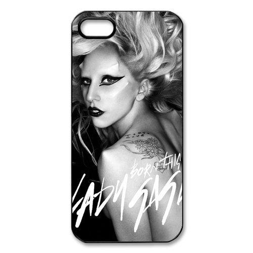 Lady Gaga hard case cover skin for iphone 5, Lady Gaga Pop Dance Music iPhone 5 case