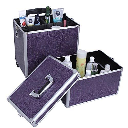 Songmics trolley make up beauty case nail art valigia - Porta smalti ikea ...