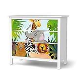 Klebefolie Sticker Tapete für IKEA Hemnes Kommode 3 Schubladen