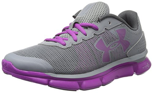 Under Armour Micro G Speed Swift, Scarpe Running Donna, Grigio (Steel), 36 EU
