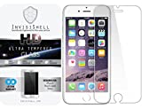 Apple iPhone 6 Plus [5.5] Ultra Tempered Glass Screen Protector | Ballistic Slim Anti Scratch Shield w/ Full HD Clarity | Better Cell Phone Accessories by InvisiShell