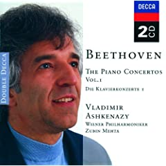 Beethoven: Piano Concertos, Vol.1 (2 CDs)