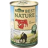 Dehner Best Nature Katzenfutter Adult Rind und Pute, 6 x 400 g (2.4 kg)