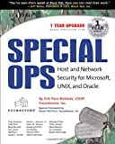 img - for Special OPs: Host and Network Security for Microsoft, Unix, and Oracle book / textbook / text book