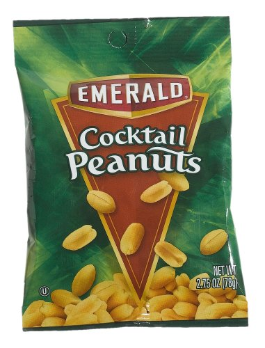 Buy Emerald Nuts Cocktail Peanuts, 2.75-oz. Bags (Pack of 36) (Emerald Nuts, Health & Personal Care, Products, Food & Snacks, Baking Supplies, Nuts & Seeds)